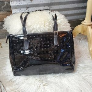 Arcadia Patent Leather Purse